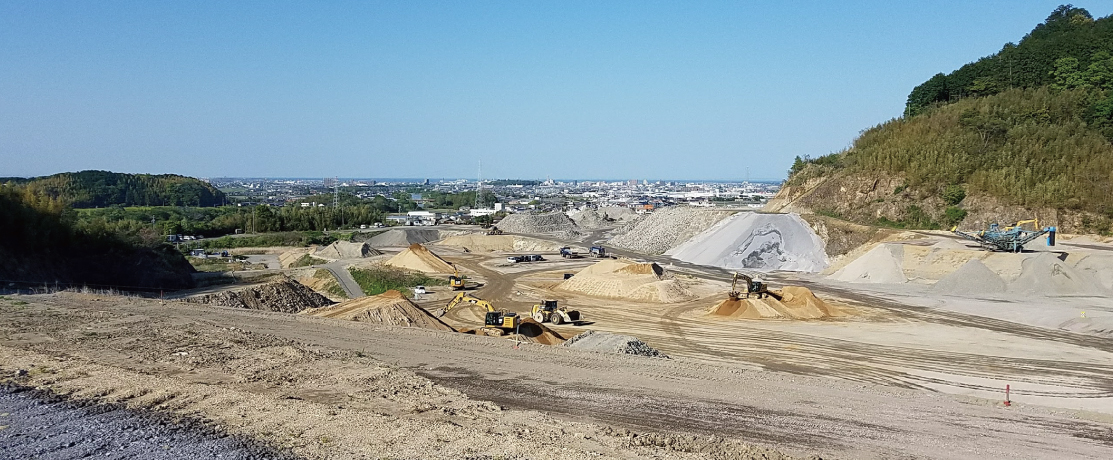 建設発生土の受入地